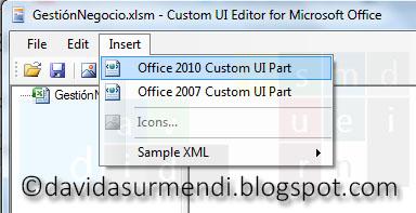 Añadir archivo XML al archivo de Excel