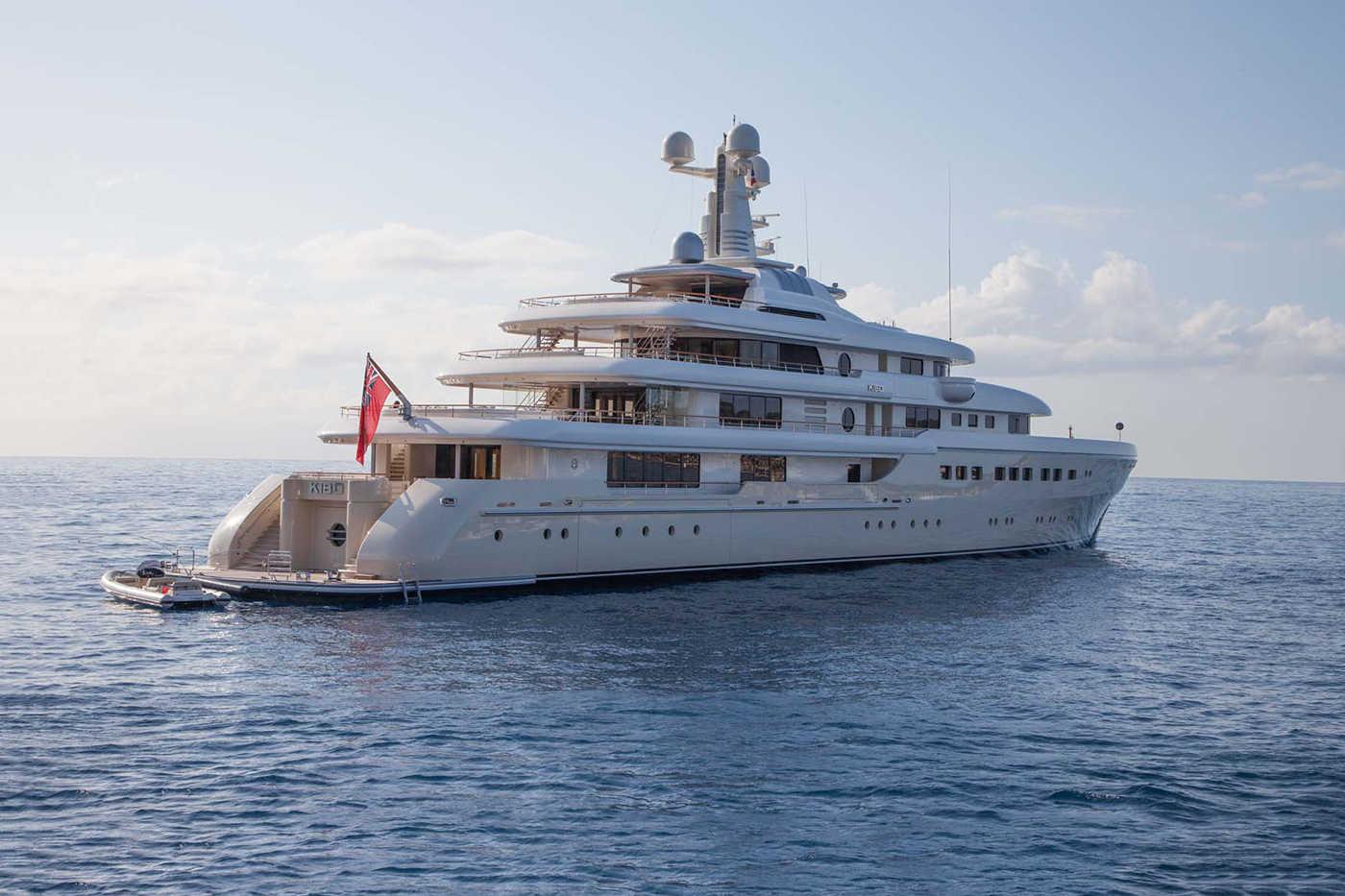 Megayacht KIBO Starboard