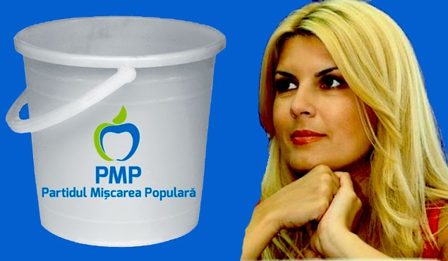 Elena Udrea PMP ice bucket challange