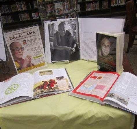 East Lake book display