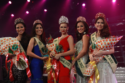 Miss Philippines Earth 2012 winners