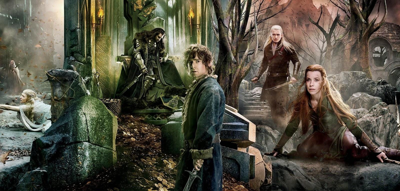 Batalhas são travadas no banner inédito de O Hobbit: A Batalha dos Cinco Exércitos, de Peter Jackson