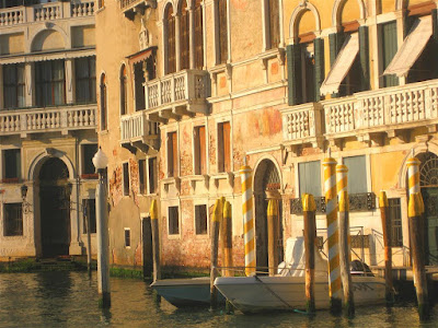 buildings, grand canal, venice italy, sunset