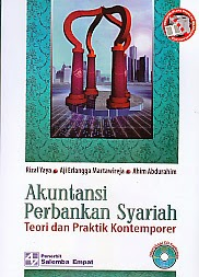 toko buku rahma: buku akuntansi perbankan syariah, pengarang rizal yaya, penerbit salemba empat