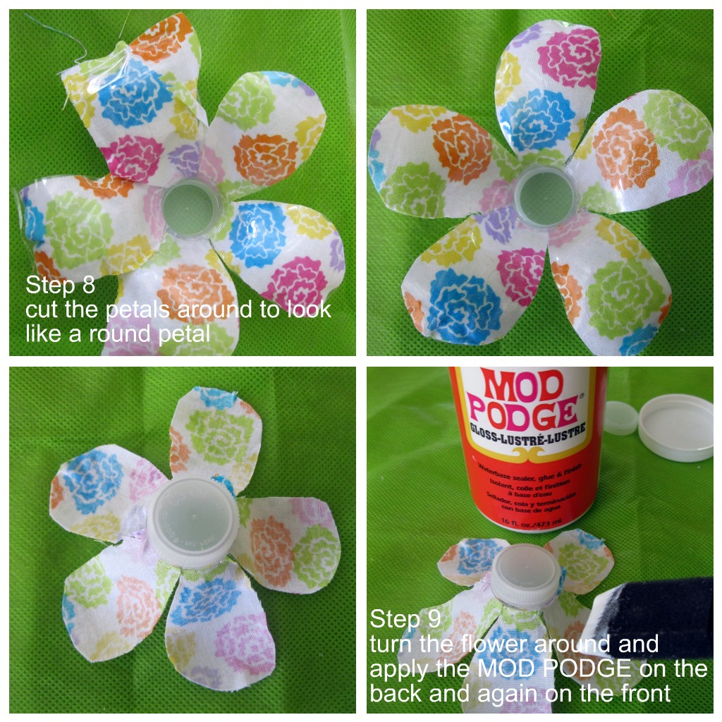Water Bottle Projects: Crissy's Crafts: Recycled Water Bottle Flower
