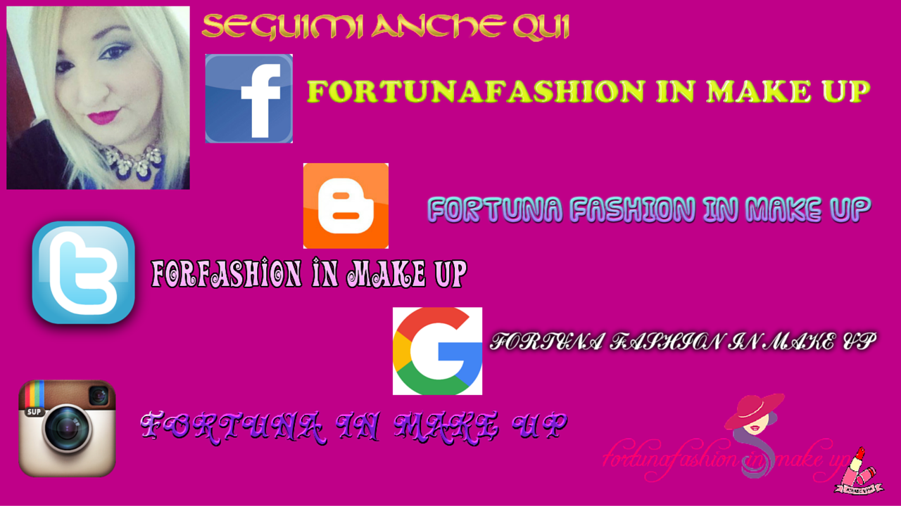 Fortuna Fashion In Make Up Nuova Collazorazione Simple Tek