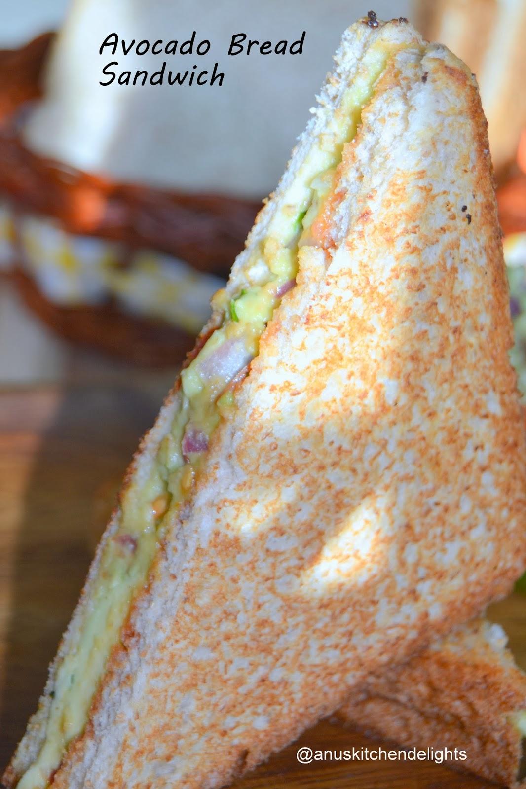 Avocado Bread Sandwich