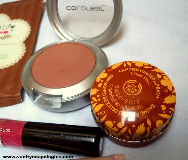 top makeup beauty blush lip balm