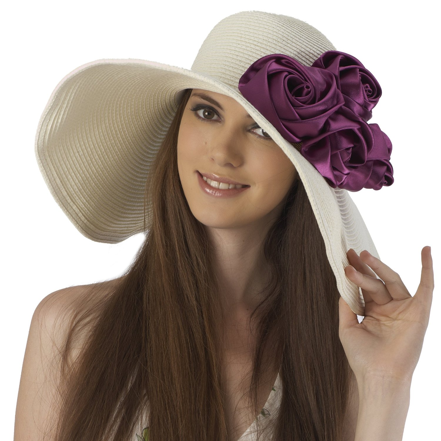 emoo fashion stylish summer hats for women 2012