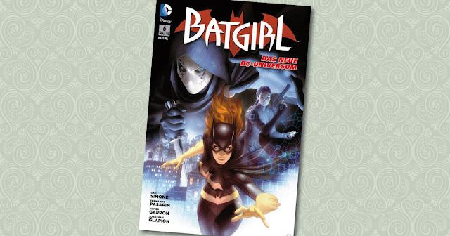 Batgirl 6 Panini Cover