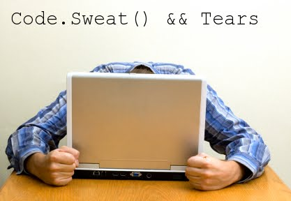 Code, Sweat and Tears