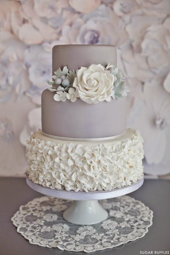 Hermosas y modernas tortas de boda : La Novia y Bodas