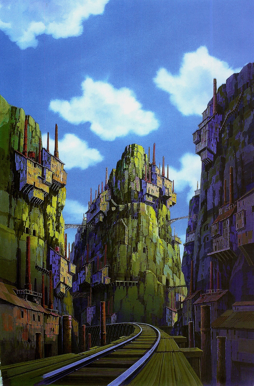 Castle in the Sky | Studio ghibli art, Castle in the sky ...