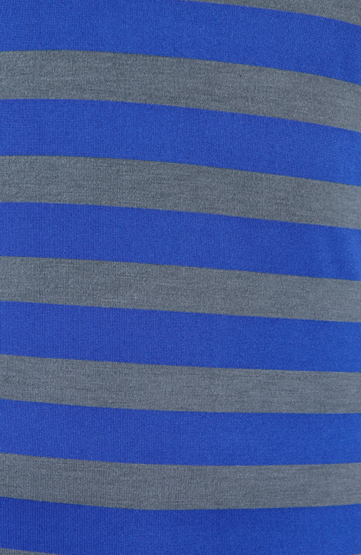 Ultramarine Cold Shoulder Stripe Top