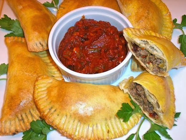 The Briny Lemon: Argentine Beef Empanadas with Sofrito