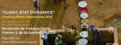 """CONCURSO DE FOTOGRAFÍA """"CLIMA ESTADO DE URGENCIA"""""""