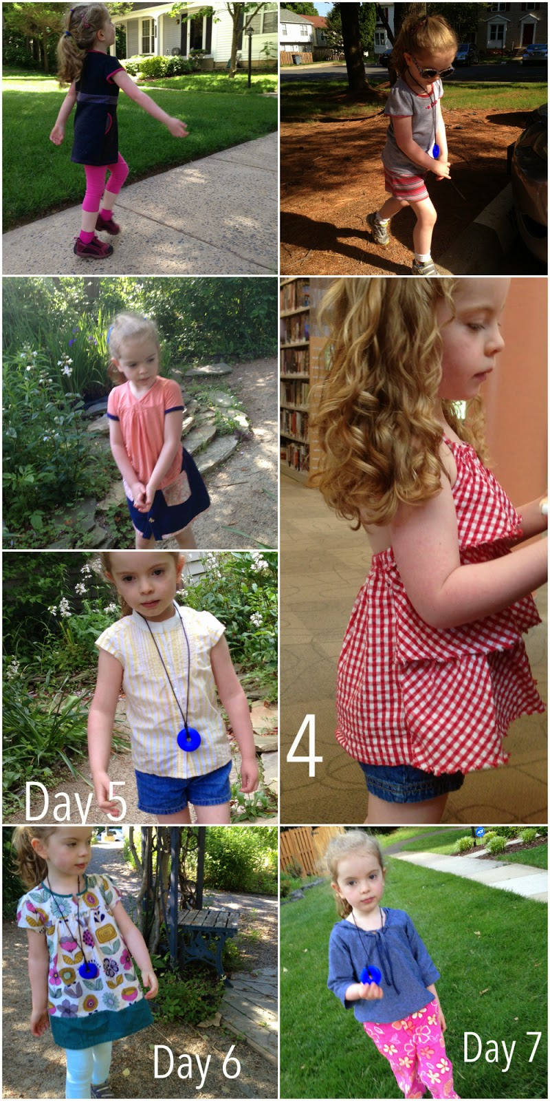 Recapping a month of wearing handmade children's clothing as part of Made for Kids Month. | The Inspired Wren
