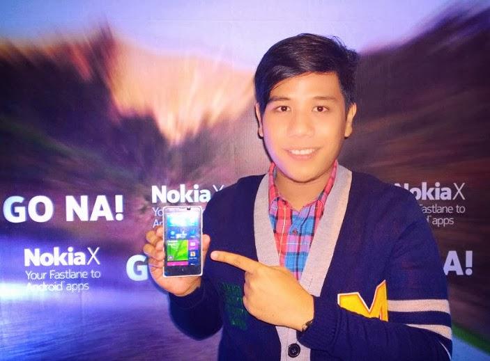 Nokia X Philippines, Nokia X, Mark Milan Macanas