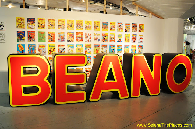 Beano Exhibit at South Bank London