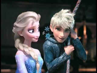 Gambar Elsa dan Jack Forst wallpaper 2