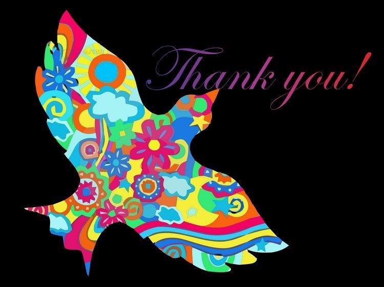 Thankyoucardbirdincolourbrings thank 20you 20so 20very