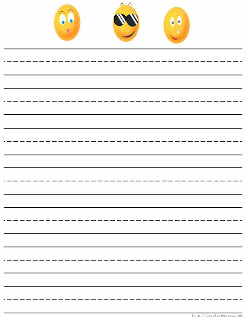 Kids Handwriting Paper