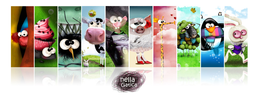 Nella Gatica + Children Illustrator
