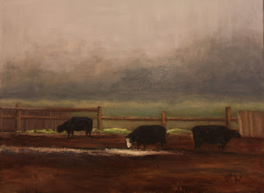 Three Cows 12x16