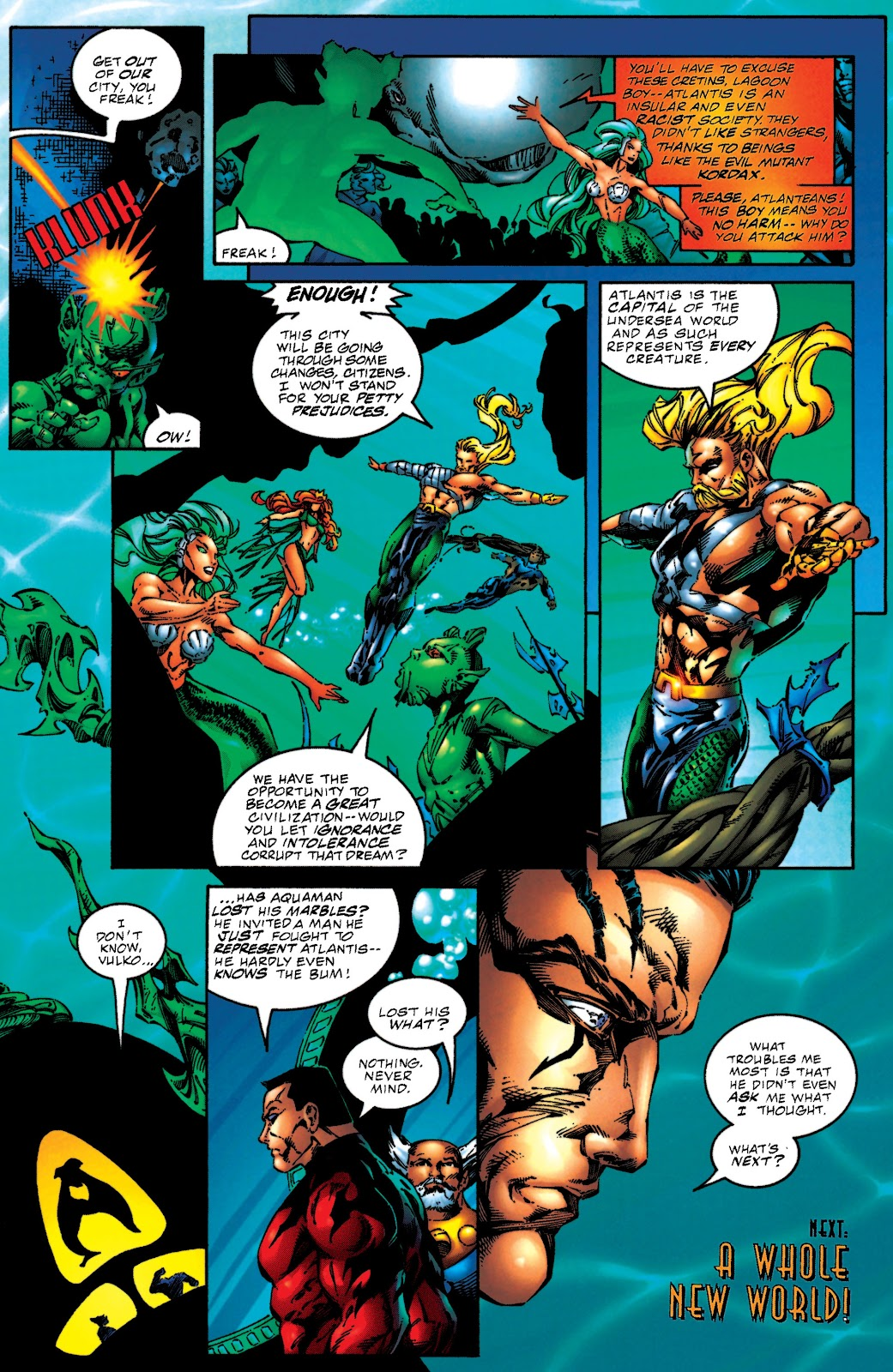 Aquaman (1994) Issue #51 #57 - English 22