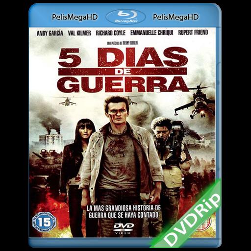 5 DIAS DE GUERRA (2011) DVRIP ESPAÑOL LATINO
