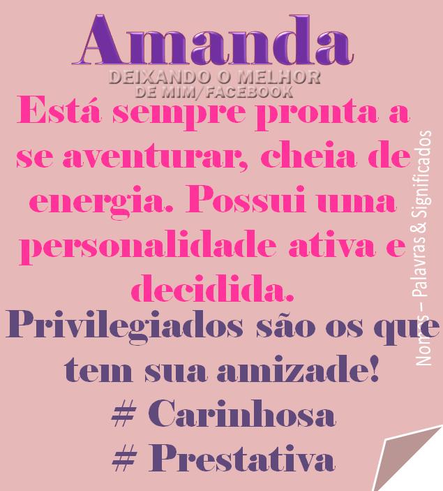 """Força Das Palavras: Nomes/Palavras & Significado LETRA """"A"""""""