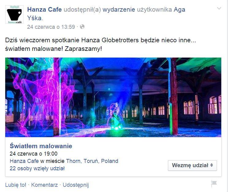 Hanza Cafe Facebook