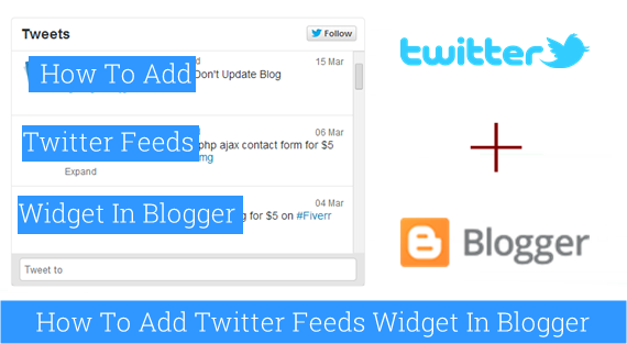 How to Add a Twitter Feed to Blogspot : eAskme