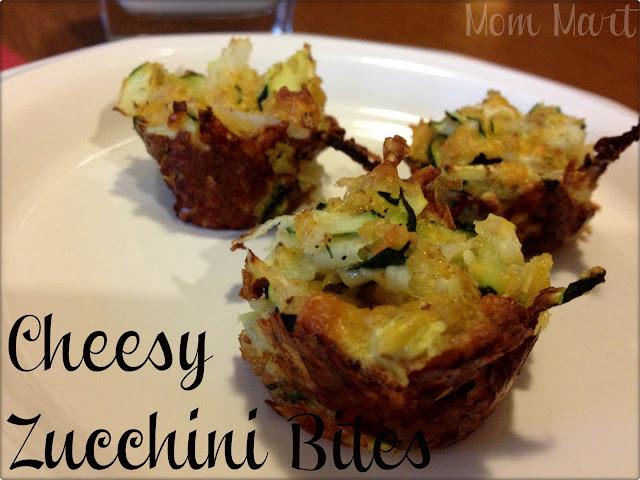 easy cheesy zucchini bites