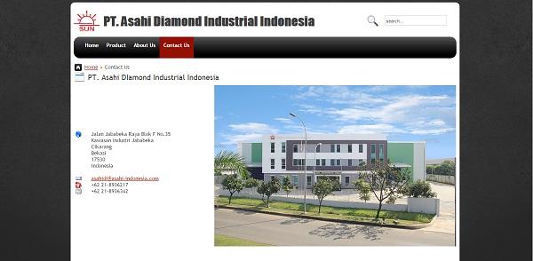 PT. Asahi Diamond Indonesia