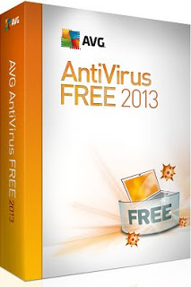 Cover Of AVG Anti-Virus Free Edition (2013) Free Download