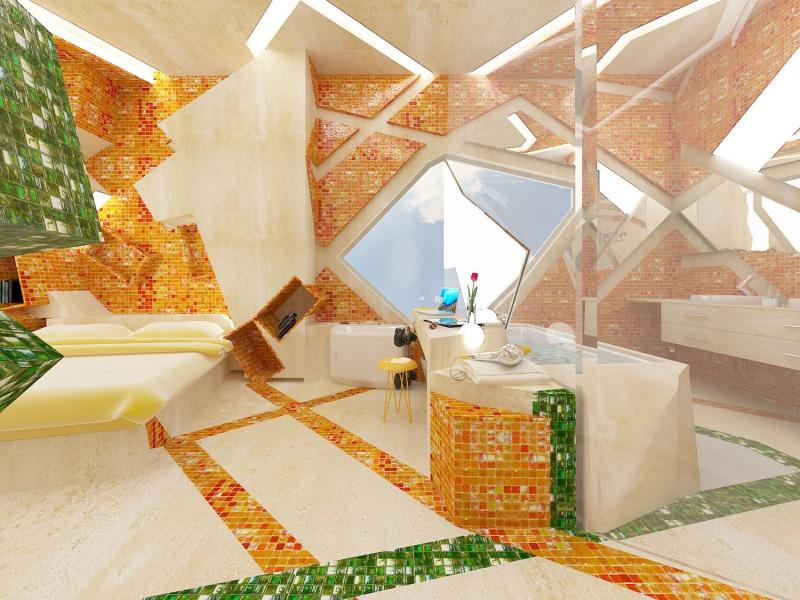 Hogares frescos incre ble dise o de un cuarto de hotel for Diseno de interiores hogares frescos