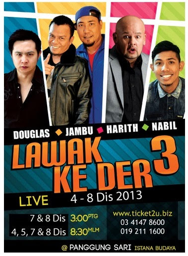 Review Lawak Ke Der 3 2013
