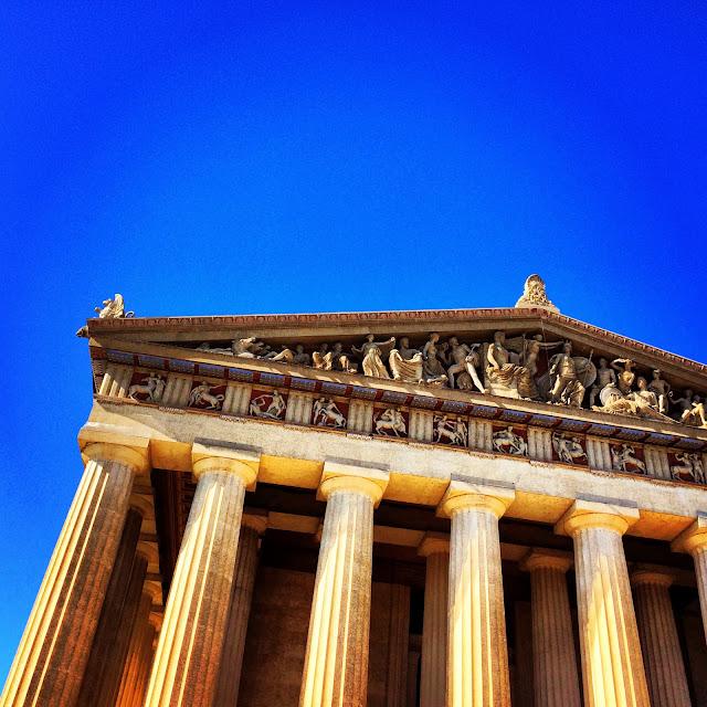Nashville Parthenon | iloveitallwithmonikawright.com