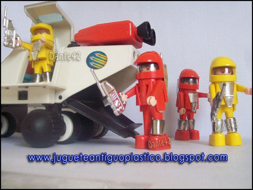 Juguete antiguo plastico juguete antiguo plastico for Nave espacial playmobil