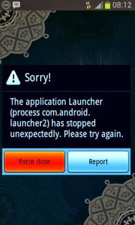 Penyebab Dan Solusi Aplikasi Android Force Close