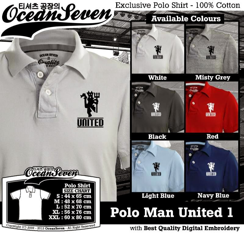 Kaos Polo Man United 1