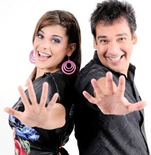 Giovanna Valcárcel junto a Roger del Aguila