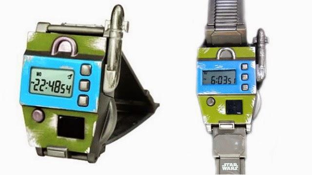 Reloj Sith con sensor de Star Wars