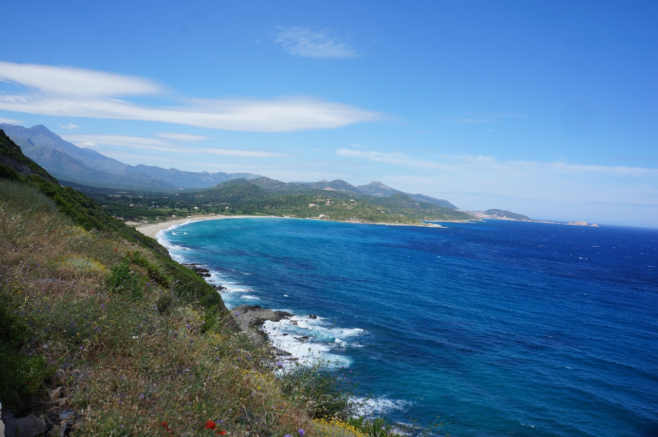 Sixteen Gelatos, Seven Ferries, & Infinite Shades of Blue (Corsica