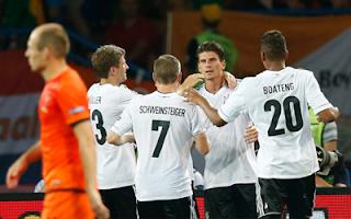 أهداف مباراة المانيا وهولندا 2-1 في بطولة اليورو 13-6-2012