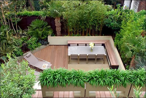 Decoration and Garden Design Small House | Garden Park on room designs for small houses, porch designs for small houses, home interior designs for small houses, deck designs for small houses,