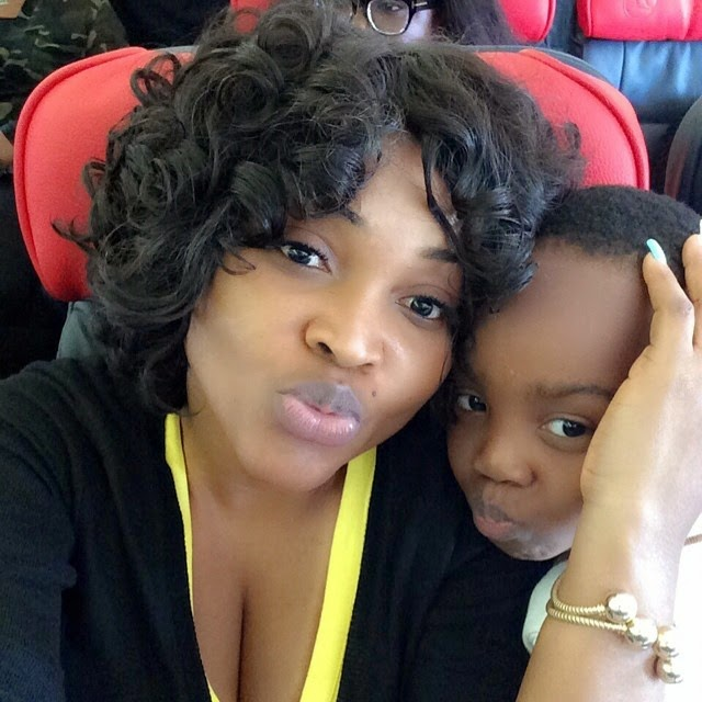 mercy aigbe kids london