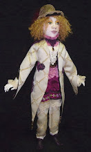Merlot Air Dry Clay doll