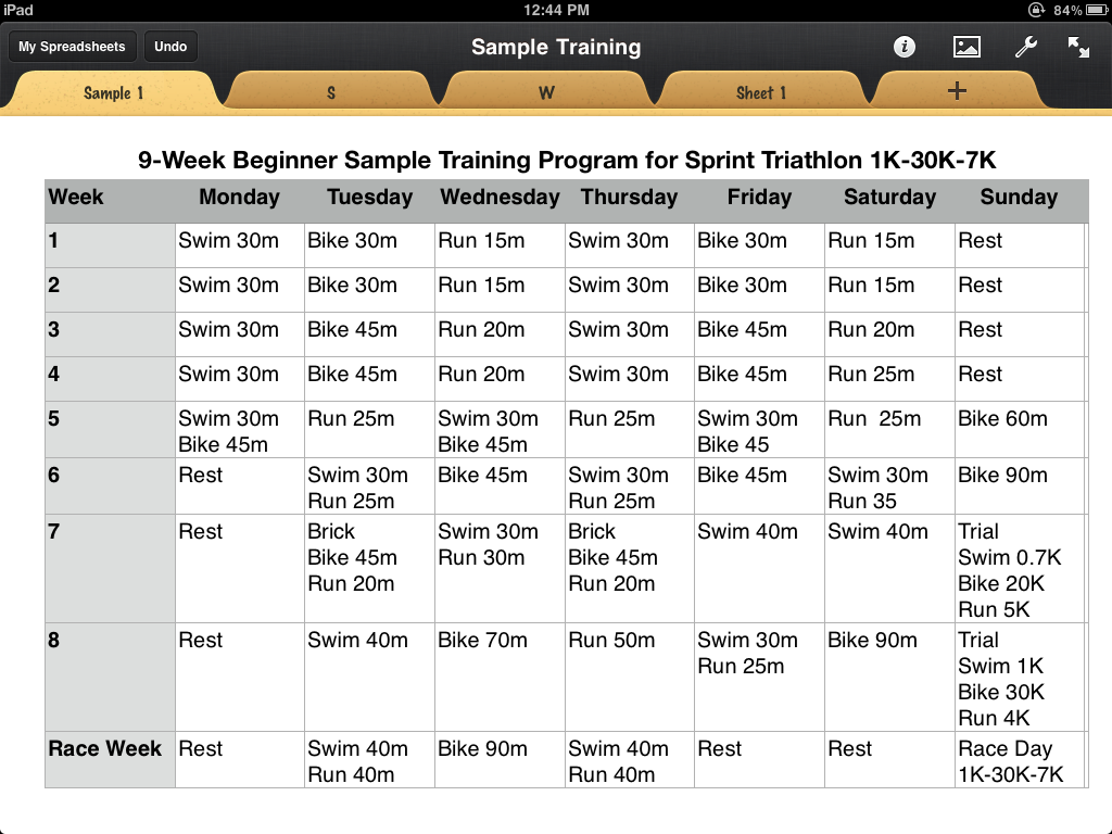 triathlon training calendar template pinoy triathlon sample training plan
